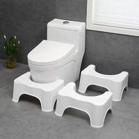 秉优 马桶垫脚凳 坐便凳蹲坑脚凳成人蹲便凳孕妇厕所坐便凳浴室如厕小凳