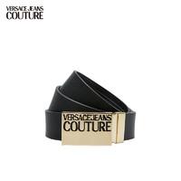 VERSACE 范思哲 Versace Jeans Couture奢侈品皮带21春夏男士腰带 可剪裁 D8YWAF32-71988  BLACK-899黑色  105