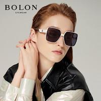 BOLON 暴龙 眼镜杨幂同款太阳镜女款2021年方形墨镜 BL5058C91