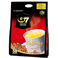 G7 COFFEE 中原咖啡 越南进口国际版g7咖啡粉 三合一速溶50包800g袋厂家批发 50X16克