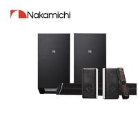 Nakimichi  中道家庭影院套装条形音箱ELITE7.2.4声道杜比全景蓝牙低音炮回音壁电视音响 黑色