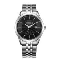 ROSSINI 罗西尼 启迪系列高性价比商务男表进口机芯手表钢带正品防水男士石英