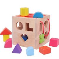 巧之木 十二孔智慧盒互动游戏 早教玩具3-6岁男女孩生日礼品 十七孔智慧盒