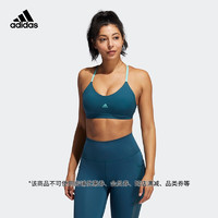 阿迪达斯官网 adidas LS SUMMER BRA 女装训练低强度运动内衣GM2797 水鸭绿/酸绿 A/XS(155/80A)