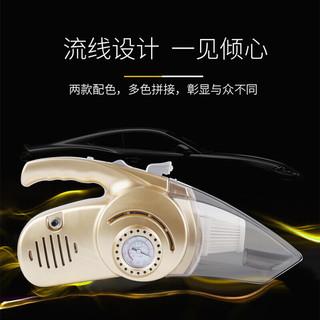 林慕 车载四合一吸尘器充气泵 多功能大功率120W车用12V吸尘充气测胎压应急照明
