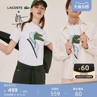 LACOSTE 拉科斯特 X Jean-Michel Tixier联名系列 TH0413N1 潮流T恤