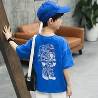 Schwartz 男童短袖T恤儿童上衣2021年夏季新款中大童装