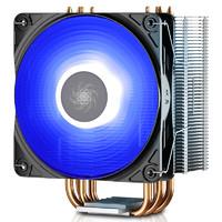 DEEPCOOL 九州风神 玄冰400 CPU散热器 幻彩版 玄冰400 蓝光版 四热管多平台
