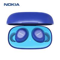 NOKIA 诺基亚 E3100真无线蓝牙耳机撞色可爱迷你入耳 渐进蓝