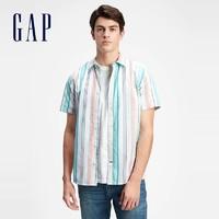 Gap/盖璞 975213 夏季新款男士休闲通勤衬衫
