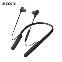 SONY 索尼 WI-1000XM2 颈挂式无线蓝牙耳机 黑色