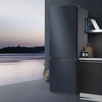 TCL 162升双门电冰箱家用小式宿舍公寓出租房二人用省电节能办公室