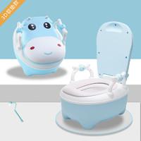 京东PLUS会员 : DUDI 嘟迪 儿童马桶坐便器翻盖PU材质软垫加大款+刷子