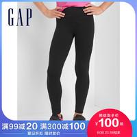GapFit系列女童松紧腰基本款运动打底裤112338夏季新款童装长裤 110cm(110cm(XS))