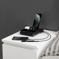 PITAKA Air Omni多合一18W苹果安卓无线快充充电器手机手表耳机ipad通用 Air Omni主机(凯夫拉版)