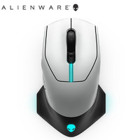 外星人(ALIENWARE) AW610M 无线RGB游戏电竞鼠标 16000DPI 5档调节 灰白