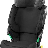 Maxi-Cosi Kore i-Size 儿童汽车座椅,ISOFIX 安装,3.5-12 岁,100-150 厘米,纯黑色