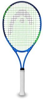 HEAD 海德 Ti.征服网球拍 - 预穿头灯平衡 27 英寸球拍 - 4 3/8 英寸球拍