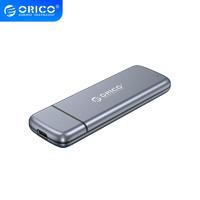 奥睿科(ORICO)移动硬盘盒M.2 NVMe/NGFF双协议转USB3.1雷速SSD固态 NVMe/NGFF双协议-免工具