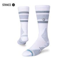 STANCE斯坦斯559中筒袜子男士feel360毛巾底篮球袜精英袜高帮运动袜 白色 L  欧码43-46