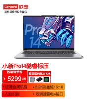 Lenovo 联想 小新Pro14标压酷睿版英特尔Evo2021新品高性能超轻薄金属机身笔记本电脑 银色