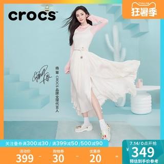 crocs 卡骆驰 杨幂同款Crocs洞洞鞋卡骆驰2021夏季新款经典果冻鞋女凉鞋|206908