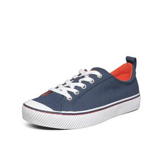 SKECHERS 斯凯奇 夏季透气女子街拍小白鞋时尚帆布鞋女休闲鞋尺码偏大