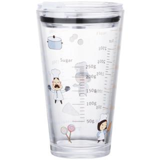 比立森 带盖玻耐热璃杯 400ml
