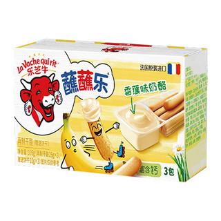 乐芝牛 蘸蘸乐再制干酪芝士小食香蕉味 105g*1盒