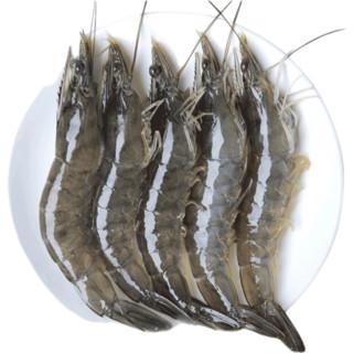 新鲜活虾冷冻青岛基围虾 净重3.6斤