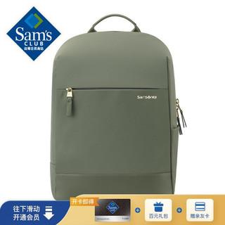 Samsonite 新秀丽 双肩包 TU4 灰绿色 双肩包旅行包苹果联想笔记本电脑包 商务背包