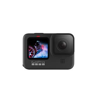 GoPro HERO9 Black 5K运动相机 Vlog数码摄像机 水下潜水户外骑行直播相机