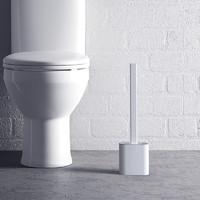 文丽 马桶刷无死角洗厕所硅胶刷子神器挂墙的卫生间家用清洁带盖壁挂式