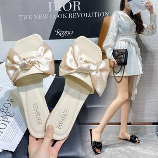 玫宸夏天拖鞋女外穿2021年夏季新款时尚网红ins平底仙女风凉拖