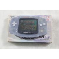 任GAMEBOY GBA天堂游戏机彩色32位掌上掌机GBA高亮90 80后童年怀旧复创意实用礼物 原版透明色 单机标配