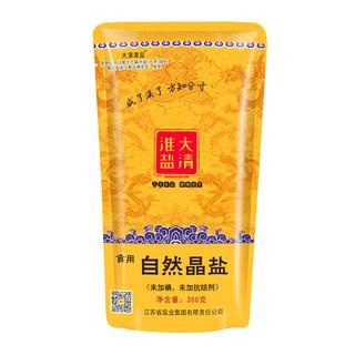大清淮盐 食用自然晶盐 350g