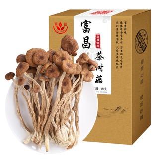 富昌 茶树菇150g*1盒茶薪菇 古田特产食用菌干货