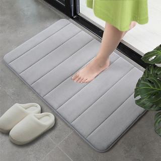 原非白 浴室吸水防滑地垫 40x60(厘米)