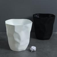 乐彼家居 创意家用垃圾桶卫生间厨房客厅办公室卧室宿舍马桶纸篓简约现代