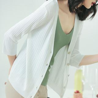 冰丝针织防晒开衫女夏薄2021新款配吊带裙子短款外搭空调披肩外套