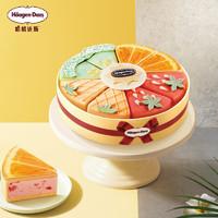 Häagen·Dazs 哈根达斯 京东:哈根达斯 夏日新品 1200克蛋糕冰淇淋 果然出色