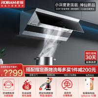 ROBAM 老板 28A0橱柜油烟机侧吸厨房大吸力抽吸油烟机家用电器官方旗舰