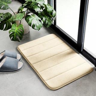 原非白 吸水防滑卫生间地垫 40x60(厘米)