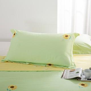 MERCURY 水星家纺 全棉印花被套/对枕套/床单单件学生宿舍单双人全棉床单枕套被套