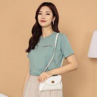 京东PLUS会员 : 诺宜 NuoYI)月子装 哺乳衣孕妇装夏哺乳T恤上衣单件J362007绿色XL
