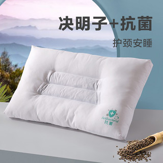 LOVO 乐蜗家纺 草本枕头芯决明子荞麦枕芯抗菌防螨一对装成人枕头
