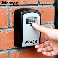 Master Lock 玛斯特 装修钥匙盒壁挂门口收纳密码锁猫眼免打孔备用公寓民宿防盗