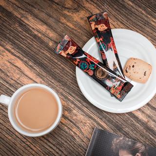 HELLO MY DEER 黑鹿咖啡 黑鹿(HELLO MYDEER)咖啡三合一速溶特浓原味含糖咖啡粉到手