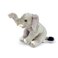 国家地理仿真野生动物玩偶非洲系列毛绒玩具布娃娃七夕礼物摆件生日礼物 大象