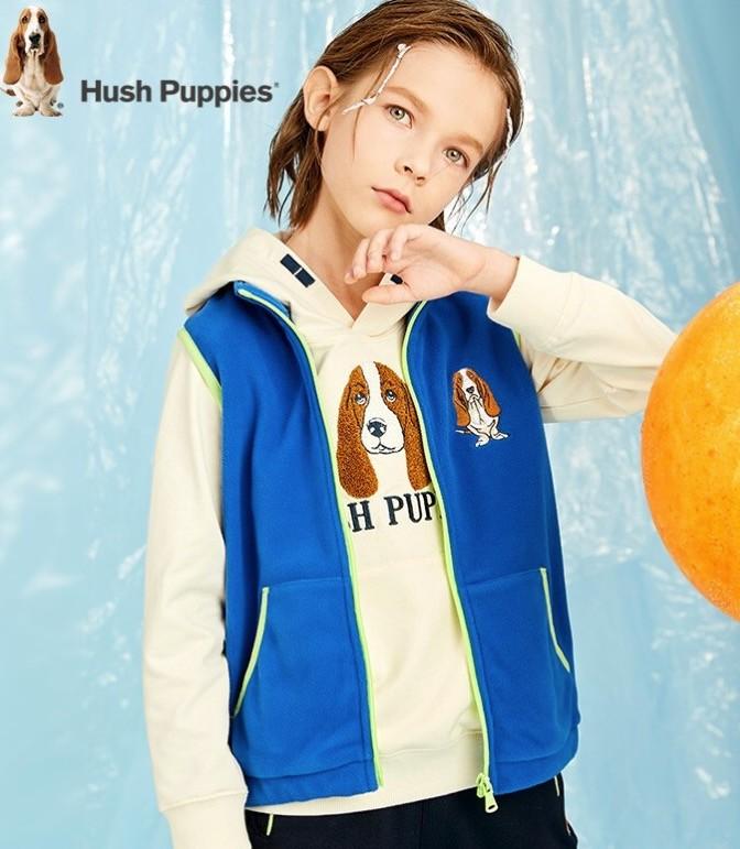 Hush Puppies 暇步士 男童马甲外套